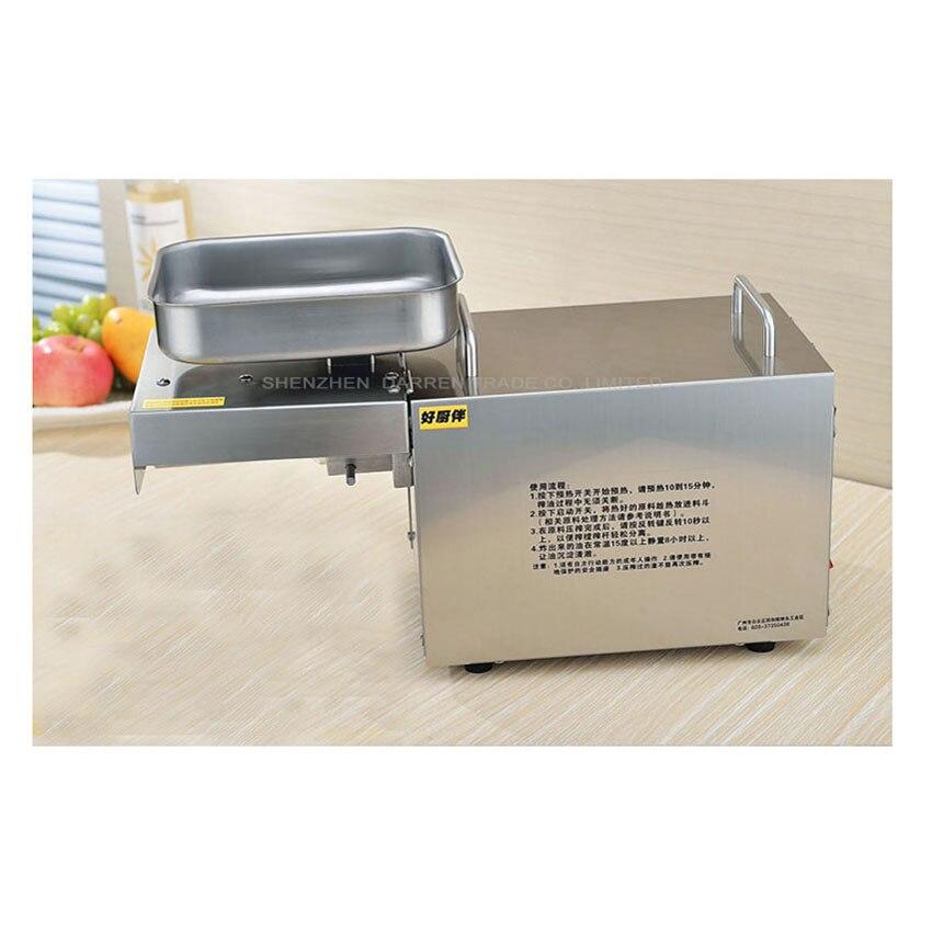 Edible Oil Press Machine Olive Oil Press Machine High Oil Extraction Rate Labor Saving Oil Presser