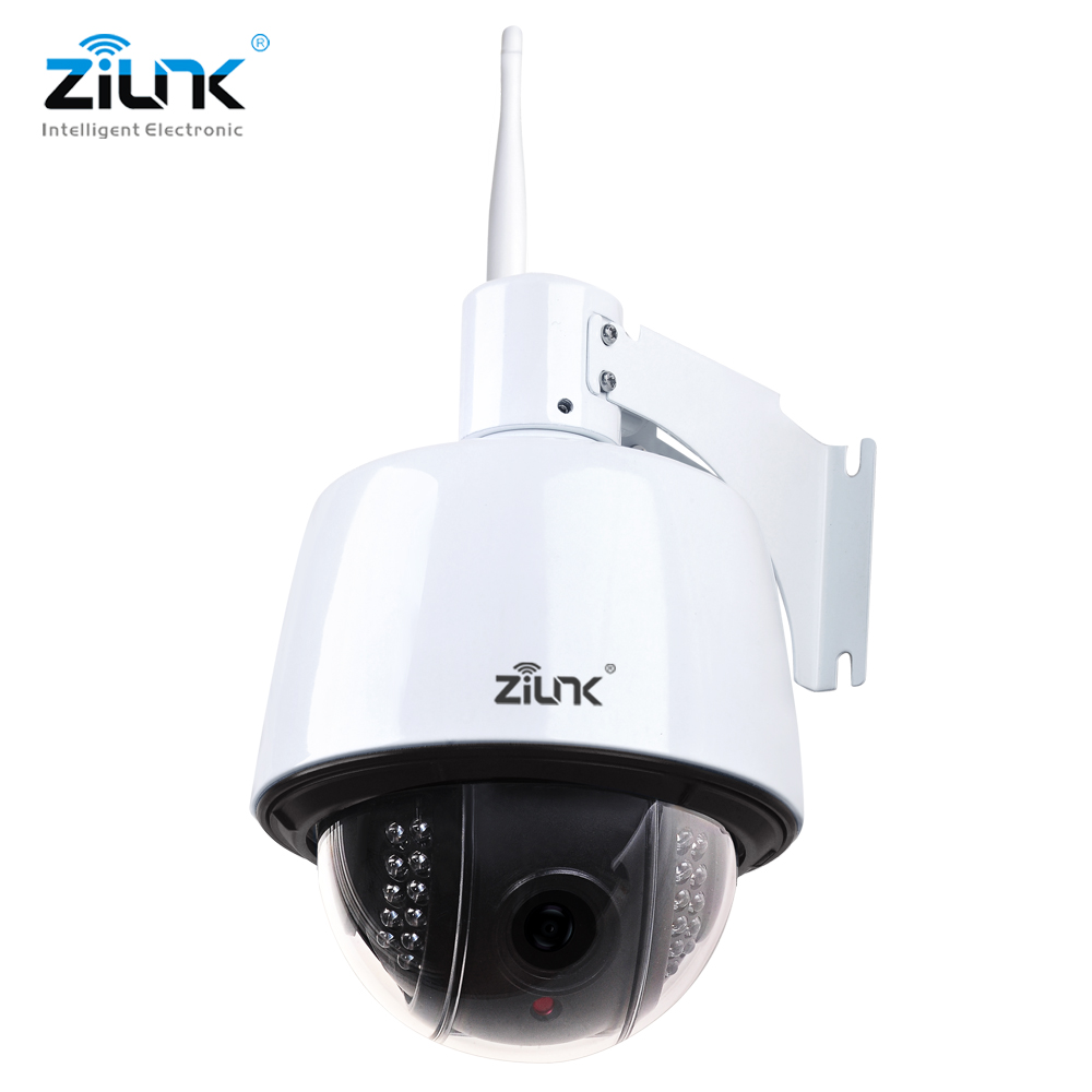 ZILNK IP PTZ Camera 2.0MP Speed Dome Outdoor 2.8-12mm Auto-Focus 5x Zoom Wifi Wireless CCTV Camera Network Onvif H.264 zilnk mini ptz speed dome ip camera 960p 5x optical zoom waterproof cctv wifi support tf card motion detection onvif h 264 black