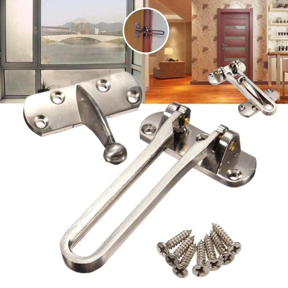 New High Quality Zinc Alloy Hasp Latch Lock Door Chain Anti-theft Clasp Convenience Window Cabinet Locks For Home Hotel SecurityNew High Quality Zinc Alloy Hasp Latch Lock Door Chain Anti-theft Clasp Convenience Window Cabinet Locks For Home Hotel Security