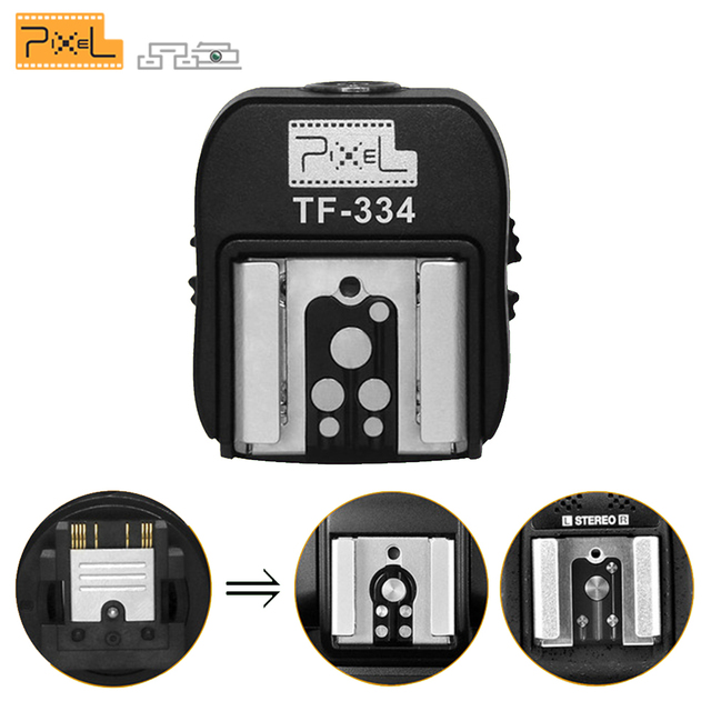 Pixel TF-334 Mi Hot Shoes Adapter For Converting Sony A7 A7S A7SII A7R A7RII A7II Camera for Canon Nikon Yongnuo Flash Speedlite