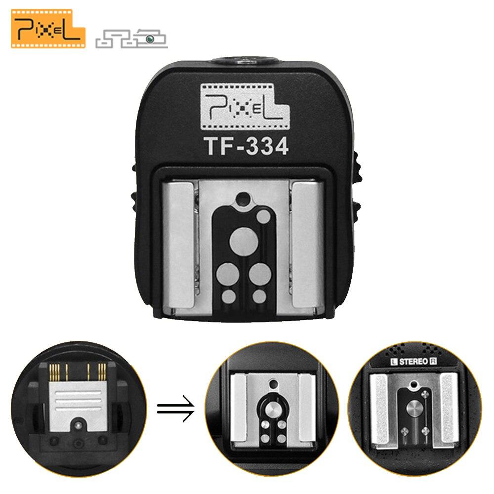 Pixel TF-334 Mi adaptador de zapatos calientes para la conversión Sony A7 A7S A7SII A7R A7RII A7II cámara para Canon Nikon Yongnuo flash Speedlite