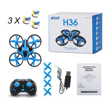 New JJRC H36 Mini Drone RC Drone Quadcopters Headless Mode Multicopter RC Helicopter VS JJRC H8 Mini H20 Dron Best Toys For Kids(China)