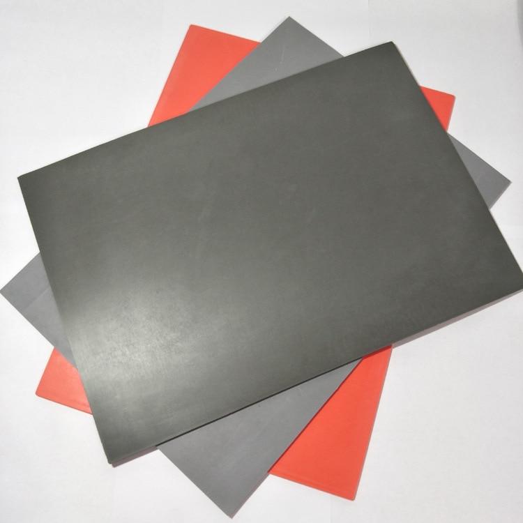 Laser Engraving Flash Stamp Black Blank Pad Cushion Stamp Plate Materials Photosensitive Self-inking Die Making