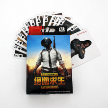 New Game PUBG Playerunknowns Battlegrounds Playing Cards Winner Chicken Dinner Poker Collection
