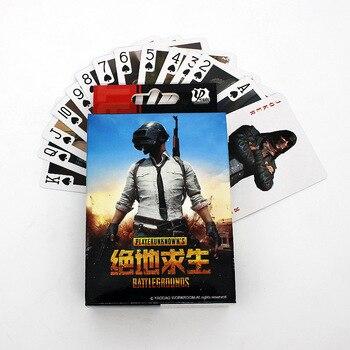 New Game PUBG Playerunknowns Battlegrounds Playing Cards Winner Chicken Dinner Poker Collection