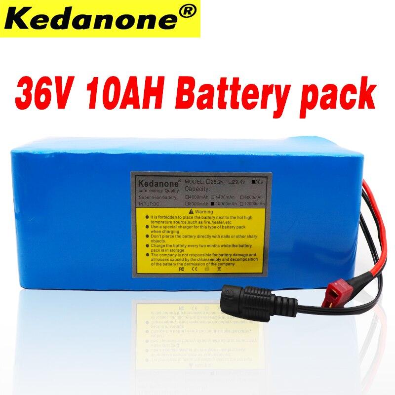 New36V 10S4P 10Ah 500 W haute puissance et capacité 42 V 18650 batterie au lithium pack ebike voiture électrique vélo moteur scooter avec BMS