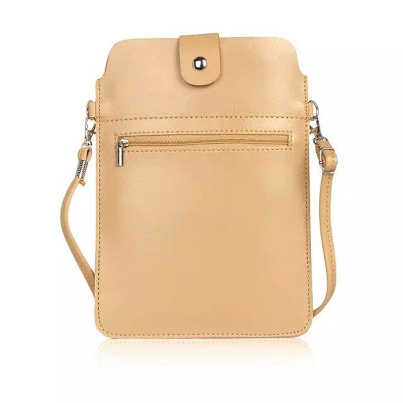 Fashion PU Leather Slim Sleeve Bag for DEXP Ixion MS450 Born, P350 Tundra, ES650 Omega, ES450 Astra, E250 Soul 2 Shoulder Bag