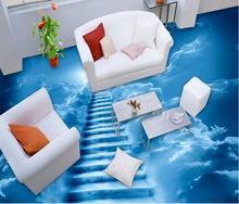 3d Bodenbelag Pvc Tapete Wolke Leiter Bodenbelag Für Badezimmer Luxus  Tapete 3d Boden Wandmalereien