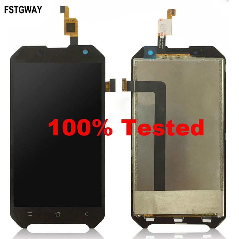 FSTGWAY For 4.7 inch Blackview Bv6000 BV6000S LCD Display+Touch Screen LCD Digitizer Glass Panel Replacement+Free Tools