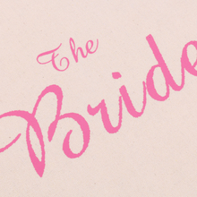 New Hot Sale Wedding Party Bridal Tote Bag Bridesmaid/Bride to Be/The Bride Hen Party Gift Bag Wedding Party Supplies Home Decor