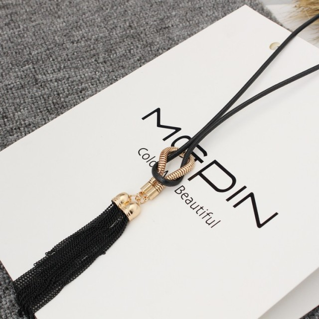 Tassel Long Chain Necklace