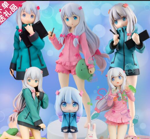 15cm-20cm Japanese Anime Eromanga Sensei Izumi Sagiri Sweet Action Figure Collectible Model Toys For Boys
