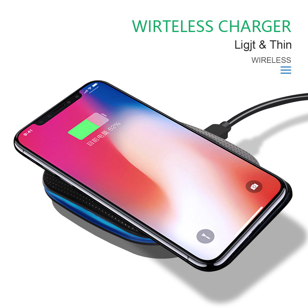 Marjay 10W Qi Wireless Charger for iPhone X88 Plus Fast Wireless Charging pad for Samsung S9S9+ S8 Note 9 9+ 8 Xiaomi Huawei (1)