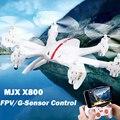 Drones Quadcopter Com Câmera HD Dron X800 2.4G 6-axis RC Helicóptero Pode Adicionar C4002 MJX & FPV Quadrocoptepr C4005