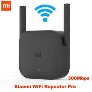 Xiaomi Mijia WiFi Repeater Pro 300M Mi Amplifier Network Expander Router Power Extender Roteador 2 Antenna for Router Wi-Fi(China)
