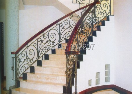 Wrought Iron Railing Decors Villas Home Railing Designs Indoor Design Wrought Iron Handrail