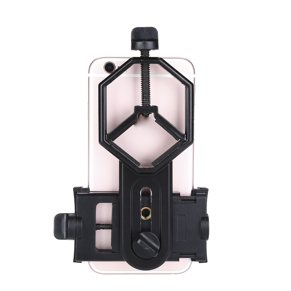 Image 5 - Free shipping!Spotting Scope Cell Phone Holder Astronomical Telescope Universal Stand Mount-in Spotting Scopes from Sports & Entertainment