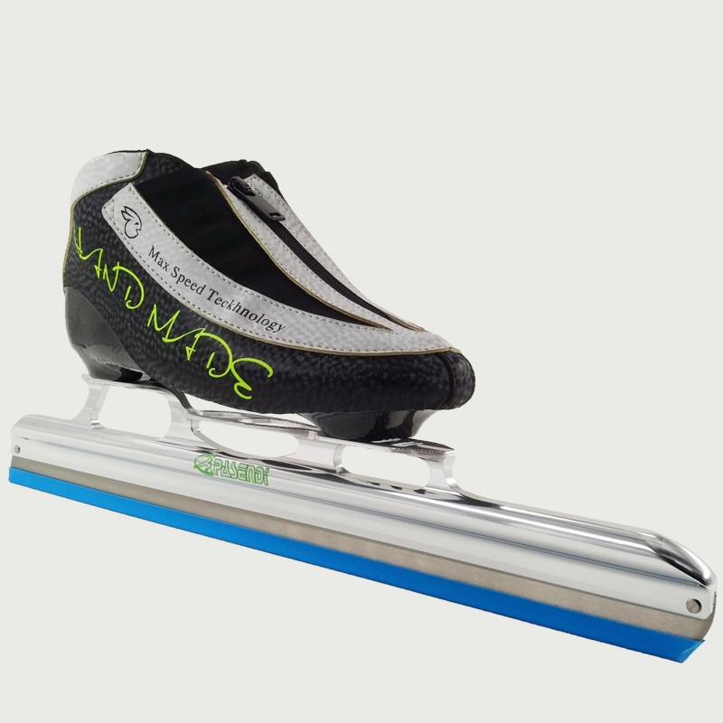 Prix pour Adultes Professionnel patins patin de Vitesse en ligne Rouleau De Patinage Femmes/Hommes patins à roues alignées Enfants glace lame longue de Suivi Skate Chaussures