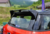 Carbon Fiber Roof Spoiler Body Kit Glossy Fibre For BMW Mini Cooper R60 Countryman Duell AG Style