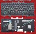 100% nuevo original para lenovo thinkpad helix 20cg 20ch gen 2 ee.uu. negro teclado retroiluminado envío gratis