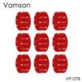 Vamson 9 Шт. 3 М Красный Клей Стикер Double Faced Клейкая Лента для Gopro hero5 4 3 + 2SJ4000 Xiaomi Yi Спорт Камеры VP107B