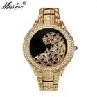 Miss Fox Role reloj de lujo hombres diamante oro hombres relojes marca superior lujo C negro Simple Tigre Xfcs hombres de negocios reloj de cuarzo