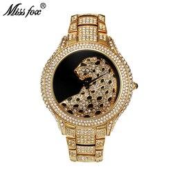 Panna lisa rolę luksusowy zegarek mężczyźni diament złoty męskie zegarki Top marka luksusowe C czarny prosty Tiger Xfcs biznes mężczyźni zegarek kwarcowy