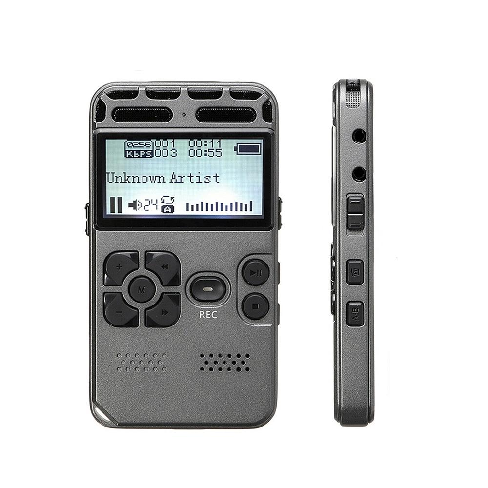 Rolton enregistreur vocal numérique enregistrement Audio Dictaphone MP3 LED affichage commande vocale 8 GB 16 GB réduction de bruit mémoire V35