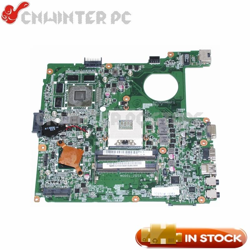 купить NOKOTION For Acer aspire E1-471 E1-471G Laptop motherboard NBM7511001 DAZQSAMB6F1 HM77 DDR3 GT630M Video Card недорого