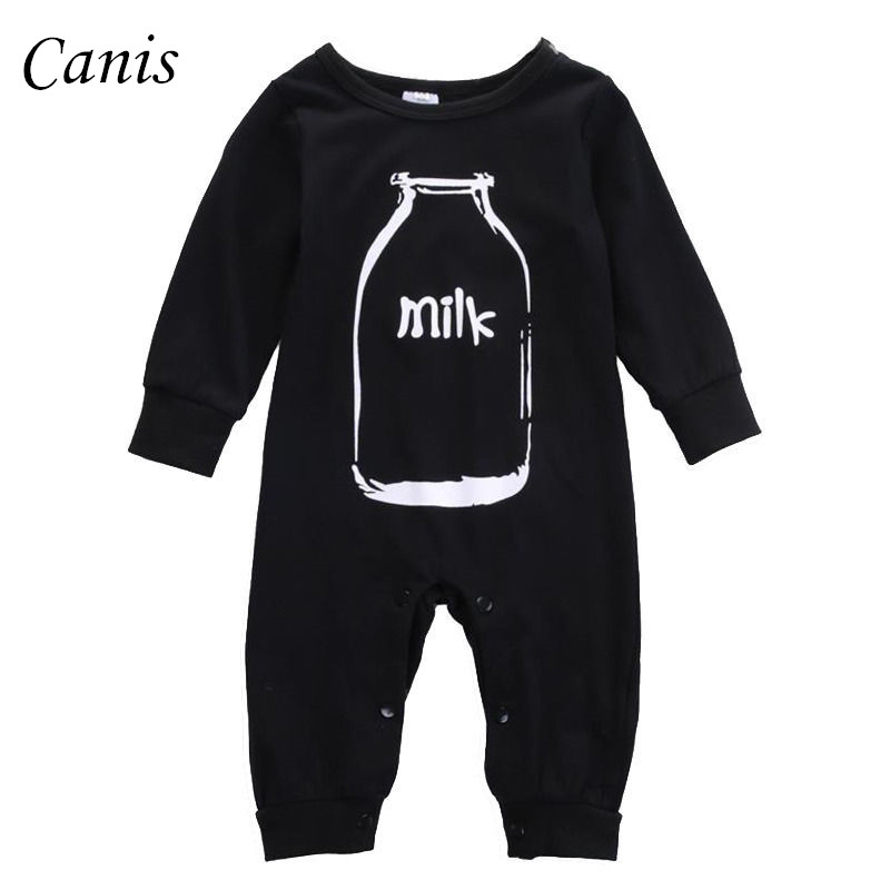 Newborn Baby Boy Girl Clothes Long Sleeve Romper Jumpsuit One-Pieces Outfits US