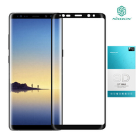 Nillkin Curvo 3D Para Samsung galaxy Note 8 Vidro Samsung nota 8 Protetor De Tela Temperado cobertura Completa para Galaxy Note8 vidro