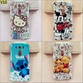 Fashion cartoon Anime Stitch kitty Luffy soft tpu gel silicon cover case for LG V10 F600 H968 G4 Pro With Stylus pen gift