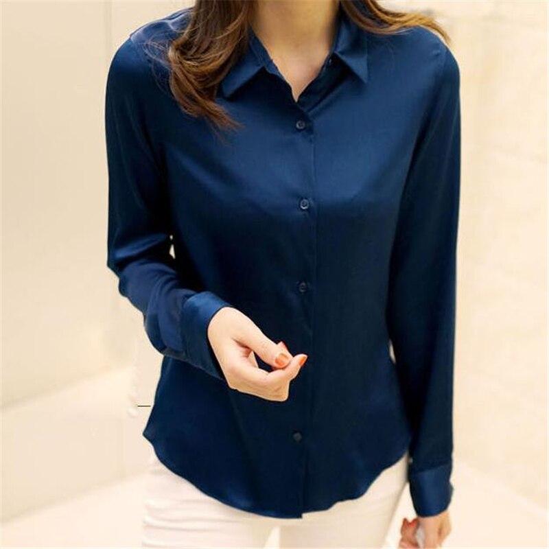 Женская на весенний сезон 93% шелк тонкий Футболки женские осень тонкие шелковые Блузка Леди Лето Soie сорочка Для женщин негабаритных дышащая