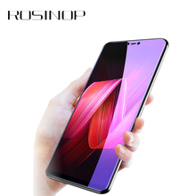 ROSINOP Scratch Proof Tempered Glass Anti Blue-ray Film Screen Protector For oppo r9 plus r11 Protective r15 r17