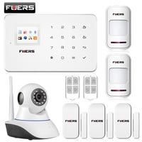 Kerui New Arrival Wireless Phone App Gsm Alarm System Home Security Alarma Gsm 99 Wireless Zone