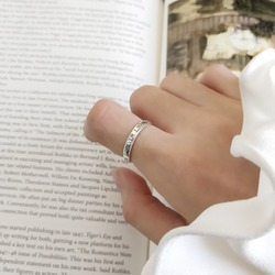 Amaiyllis 100% винтажная искусственная серебра я хочу быть навсегда открытой искусственная Романтика подарок на день Святого Валентина
