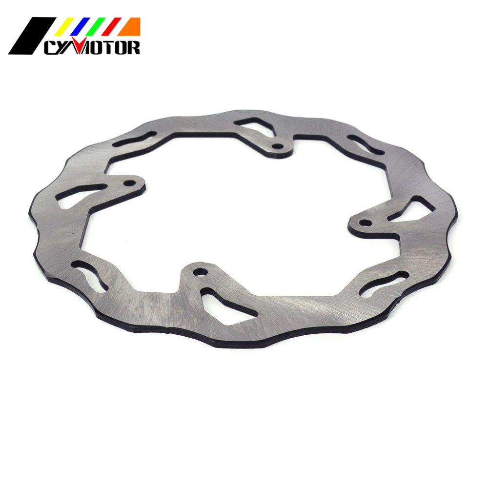Motorcycle Steel Rear Brake Disc For HONDA CR125R CR250R CRF250R CRF450R CRF 250 450 R CRF450RX CRF250X 04-18 CRF450X 05-17