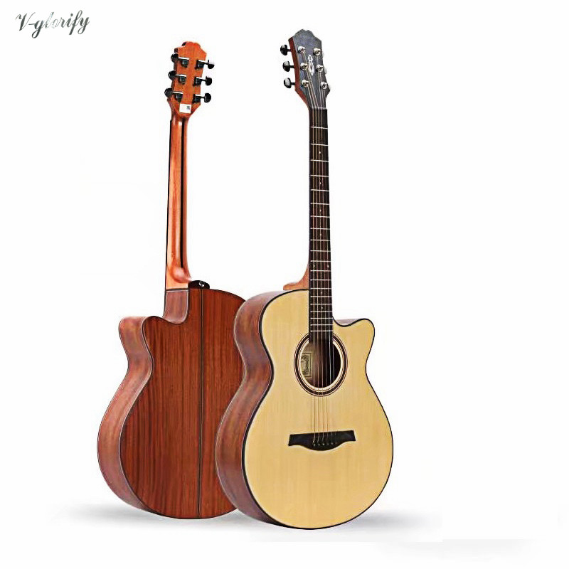 2018 factory new arrival 40 inch cutway acoustic electric guitar2018 factory new arrival 40 inch cutway acoustic electric guitar