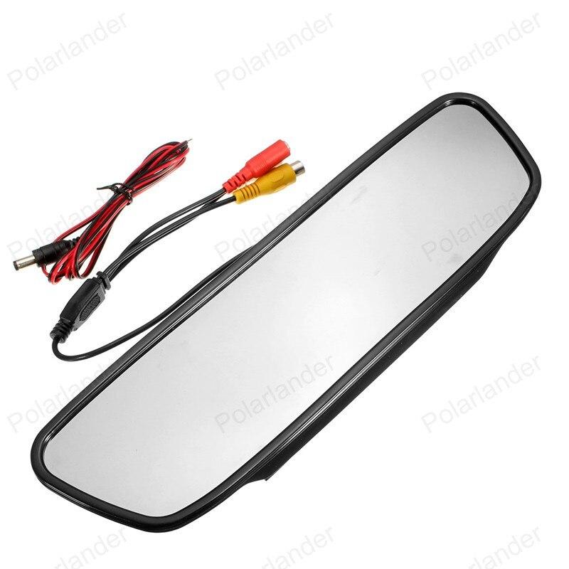 4,3 Inch Rückansicht Kamera Auto Spiegel Monitor Auto LED-Monitor Auto Monitor Auto Monitor