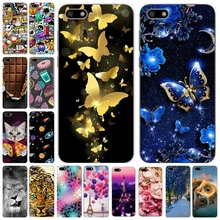 Soft Silicone Cover For Huawei Y5 Prime 2018 Y5 2018 Cases 5.45' Printing Phone Shell for Huawei Y 5 Prime 2018 Fundas Coque Bag