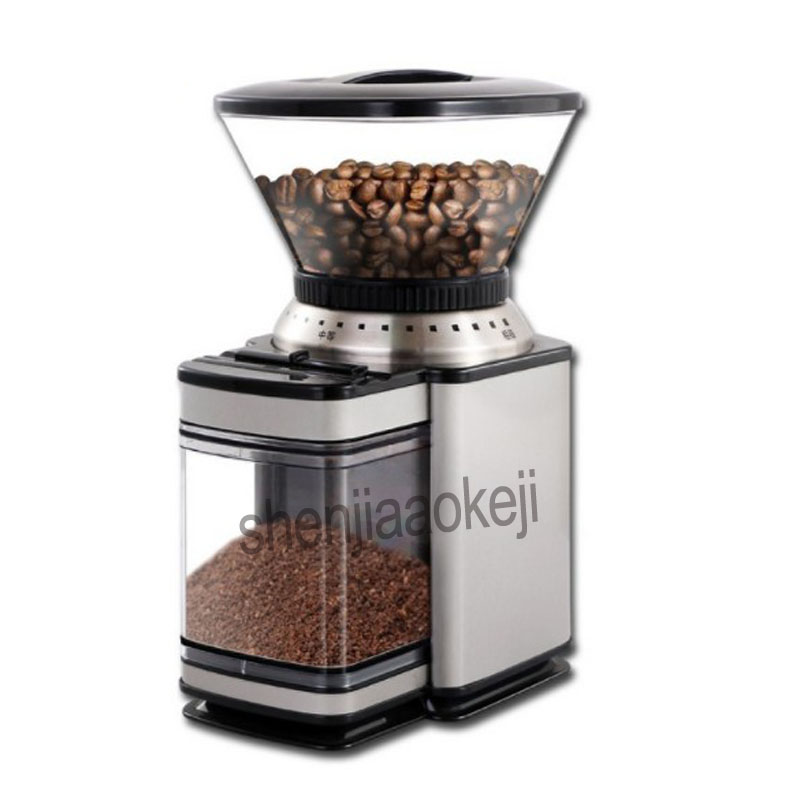 Commercial electric grinders 220v 120w Coffee grinder mills Office Cafe household grinding machine Freshly ground coffee machineCommercial electric grinders 220v 120w Coffee grinder mills Office Cafe household grinding machine Freshly ground coffee machine