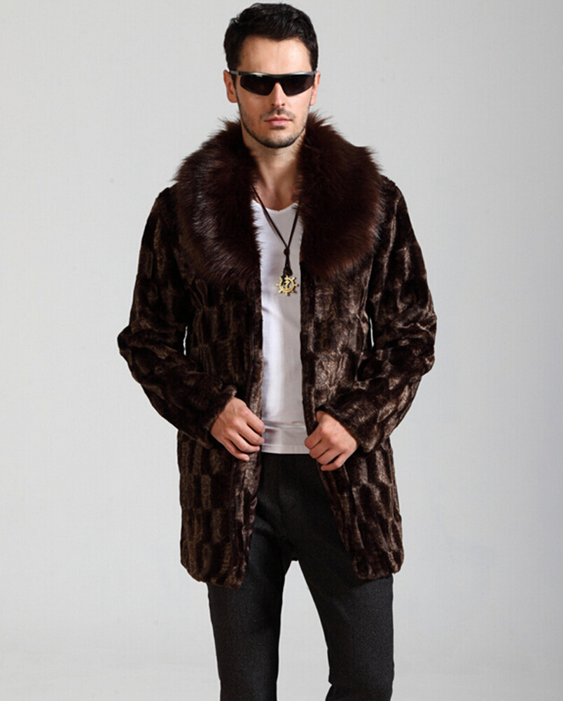 Compare Prices on Faux Fur Coats for Men- Online Shopping/Buy Low