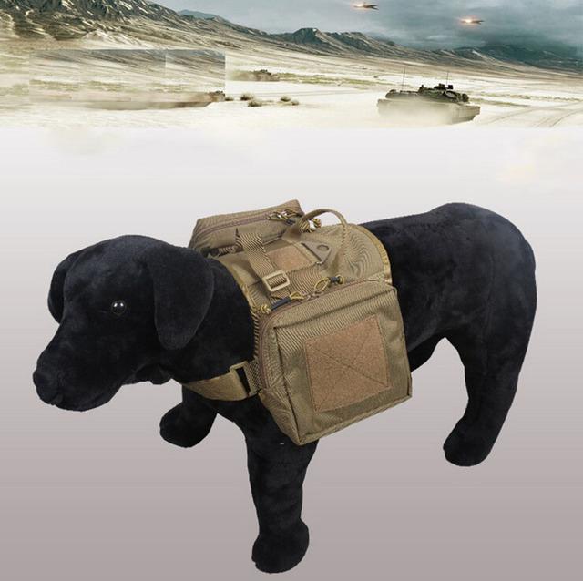 A Roupa Do Cão Cão Coletes Táticos Ao Ar Livre Militar do exército de Carga Cinto Tático SWAT Molle Vest Harness XL1155 Do Treinamento Do Cão