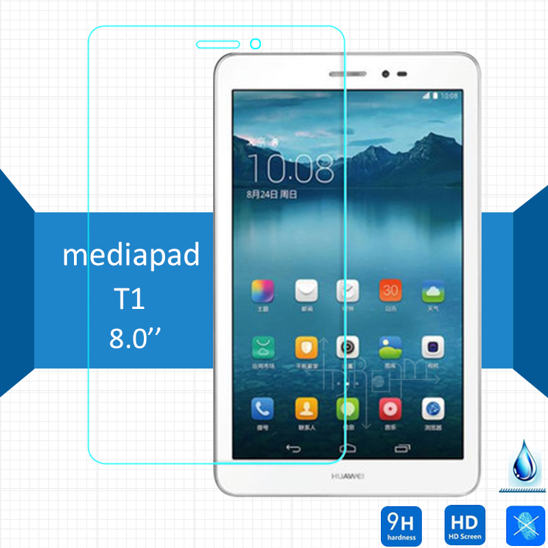 For Huawei Mediapad T1 8.0 Tempered Glass Screen Protector 2.5 9h Safety Protective on 3G S8-701u Honor Pad Pro T1-821L T1-823L