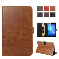 Tablet Case For Huawei Media Pad T3 8 0 Solid Slim Cover Stand Case Flip Print