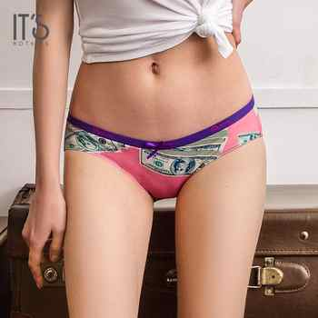 IT'S NOTHING DOLLAR Women Sexy Underwear Knot Briefs Panties Seamless Super Thin Women's Bow-Knot Sexy Pink Panties Original - DISCOUNT ITEM  0% OFF All Category
