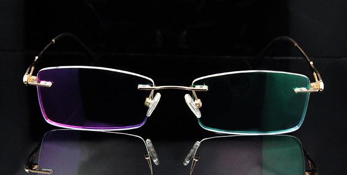 Titanium Rimless Glasses Women (5)