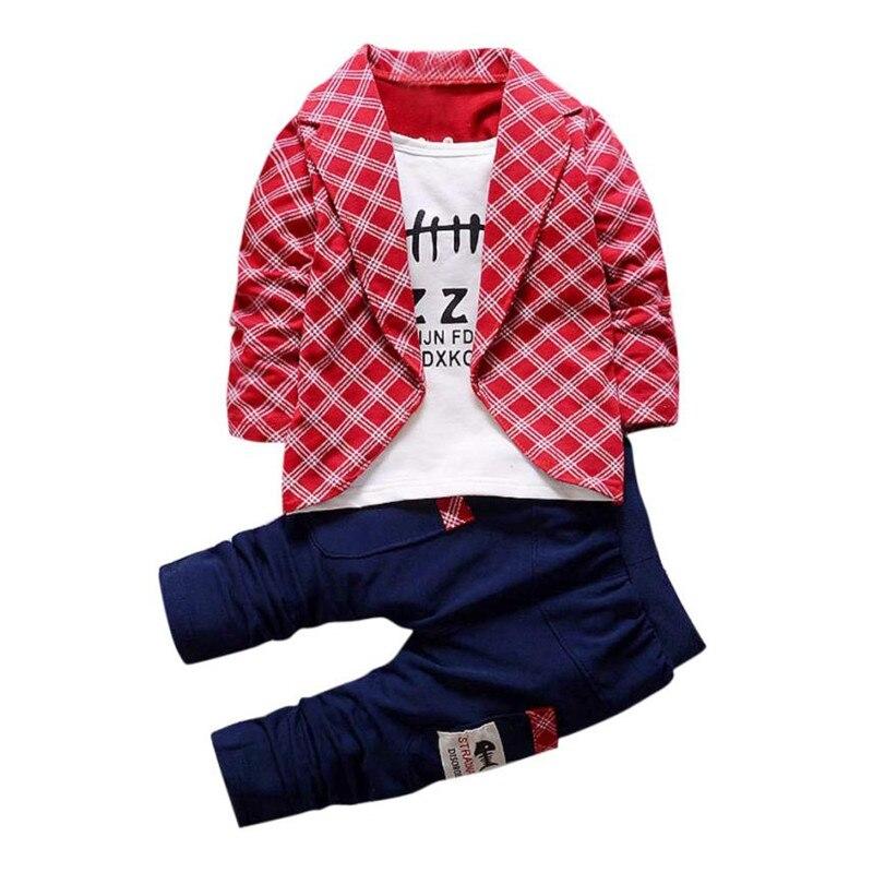 Bebé, venta Niños camisa Tops coat larga Pantalones ropa Caballero ...