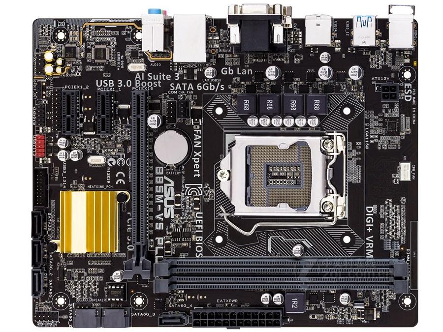 original motherboard ASUS B85M-V5 PLUS DDR3 LGA 1150 for I3 I5 I7 CPU 16GB B85 Desktop motherboard