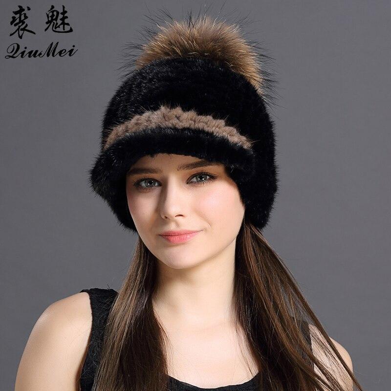Móda, kuřecí čepice, zimní styl, kožešina, pletení, - Příslušenství pro oděvy